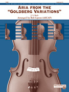 Cover icon of Aria from the Goldberg Variations (COMPLETE) sheet music for string orchestra by Johann Sebastian Bach
