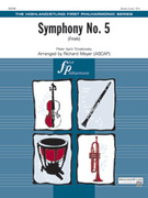 Cover icon of Symphony No. 5 (COMPLETE) sheet music for full orchestra by Pyotr Ilyich Tchaikovsky