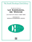 Cover icon of Le Carnaval de Venise sheet music for concert band (full score) by Jean Baptiste Arban
