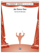 Cover icon of Air Force One sheet music for concert band (full score) by Chris M. Bernotas, beginner concert band (full score)