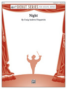 Cover icon of Night sheet music for concert band (full score) by Craig Andrew Fitzpatrick