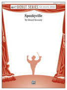 Cover icon of Spookyville sheet music for concert band (full score) by Edward Kennedy