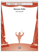 Cover icon of Havasu Falls sheet music for concert band (full score) by Jeremy Bell