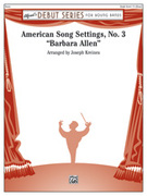 Cover icon of American Song Settings, No. 3