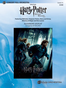 Cover icon of Harry Potter and the Deathly Hallows, Part 1, Suite from (COMPLETE) sheet music for full orchestra by Alexandre Desplat
