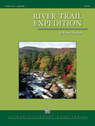 Cover icon of River Trail Expedition sheet music for concert band (full score) by Robert Sheldon, easy/intermediate