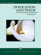 Cover icon of Invocation and Psalm (COMPLETE) sheet music for concert band by Vince Gassi