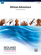 Cover icon of African Adventure sheet music for string orchestra (full score) by Robert Sheldon, easy skill level