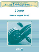 Cover icon of C-Serpents sheet music for string orchestra (full score) by Andrew H. Dabczynski