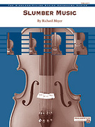 Cover icon of Slumber Music sheet music for string orchestra (full score) by Richard Meyer, easy skill level