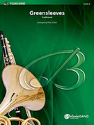 Cover icon of Greensleeves (COMPLETE) sheet music for concert band by Anonymous and Paul Cook, classical score, easy