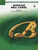 Cover icon of African Bell Carol sheet music for string orchestra (full score) by Anonymous and Robert W. Smith, easy/intermediate