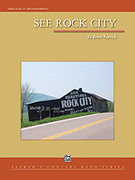 Cover icon of See Rock City sheet music for concert band (full score) by Brant Karrick, intermediate/advanced