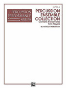 Cover icon of Percussion Ensemble Collection, Level II (COMPLETE) sheet music for percussions by Harold Farberman, easy