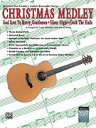 Cover icon of 21st Century Guitar Ensemble Series: Christmas Medley (COMPLETE) sheet music for guitar solo by Anonymous, Louis Martinez and Aaron Stang