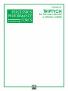 Cover icon of Triptych sheet music for percussions (full score) by Anthony J. Cirone, advanced skill level