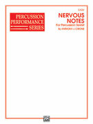 Cover icon of Nervous Notes sheet music for percussions (full score) by Anthony J. Cirone, beginner skill level