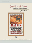 Cover icon of Sketches of Spain sheet music for concert band (full score) by Dave Black