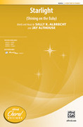 Cover icon of Starlight sheet music for choir (2-Part) by Sally K. Albrecht