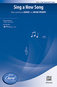 Cover icon of Sing a New Song sheet music for choir (3-Part Mixed) by Dave Perry, intermediate