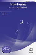 Cover icon of In the Evening sheet music for choir (SSAA) by Jay Althouse