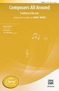 Cover icon of Composers All Around sheet music for choir (2-Part) by Anonymous, Andy Beck and Mark Burrows