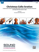 Cover icon of Christmas Cello-bration sheet music for string orchestra (full score) by Anonymous and Bob Phillips, intermediate orchestra