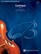 Cover icon of Cantique (COMPLETE) sheet music for string orchestra by Gabriel Faure