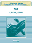 Cover icon of Ninja sheet music for string orchestra (full score) by Richard Meyer