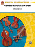 Cover icon of German Christmas Carols sheet music for string orchestra (full score) by Anonymous