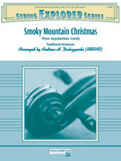 Cover icon of Smoky Mountain Christmas sheet music for string orchestra (full score) by Anonymous