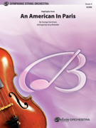 Cover icon of An American in Paris, Highlights from sheet music for string orchestra (full score) by George Gershwin and Jerry Brubaker