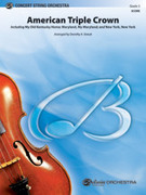 Cover icon of American Triple Crown sheet music for string orchestra (full score) by Anonymous