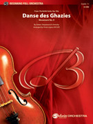 Cover icon of Danse des Ghazies sheet music for full orchestra (full score) by Anton Stepanovich Arensky, intermediate skill level