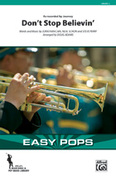 Cover icon of Don't Stop Believin' (COMPLETE) sheet music for marching band by Jonathan Cain, Neal Schon, Steve Perry, Journey and Doug Adams