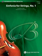 Cover icon of Sinfonia for Strings, No. 1 sheet music for string orchestra (full score) by Antonio Vivaldi, intermediate