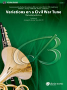 Cover icon of Variations on a Civil War Tune sheet music for concert band (full score) by Anonymous and Michael Story