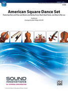 Cover icon of American Square Dance Set sheet music for string orchestra (full score) by Anonymous and Bob Phillips, intermediate orchestra