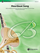 Cover icon of Heartbeat Song (COMPLETE) sheet music for concert band by Audra Mae, Kelly Clarkson and Jason Evigan, intermediate