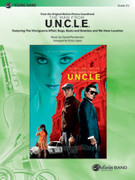 Cover icon of The Man from U.N.C.L.E. (COMPLETE) sheet music for concert band by Daniel Pemberton and Victor Lopez, intermediate