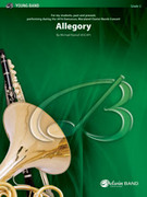 Cover icon of Allegory sheet music for concert band (full score) by Michael Kamuf