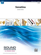 Cover icon of Sonatina sheet music for concert band (full score) by Robert Sheldon, classical score, intermediate skill level
