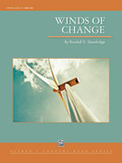 Cover icon of Winds of Change sheet music for concert band (full score) by Randall D. Standridge