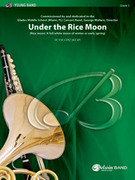 Cover icon of Under the Rice Moon sheet music for concert band (full score) by Victor Lopez