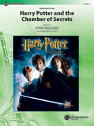 Cover icon of Harry Potter and the Chamber of Secrets, Selections from sheet music for concert band (full score) by John Williams, intermediate