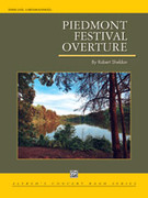 Cover icon of Piedmont Festival Overture sheet music for concert band (full score) by Robert Sheldon, intermediate skill level