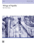 Cover icon of Wings of Apollo sheet music for concert band (full score) by Vince Gassi