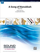 Cover icon of A Song of Hanukkah sheet music for concert band (full score) by Anonymous and Robert Sheldon