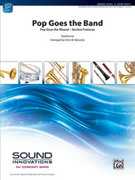Cover icon of Pop Goes the Band sheet music for concert band (full score) by Chris M. Bernotas