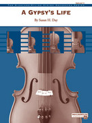 Cover icon of A Gypsy's Life (COMPLETE) sheet music for string orchestra by Susan H. Day, intermediate skill level
